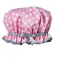 Jessie Steele Pink White Dot Shower Cap