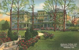 Postcard-Anderson-College-and-Theological-Seminary-Indiana