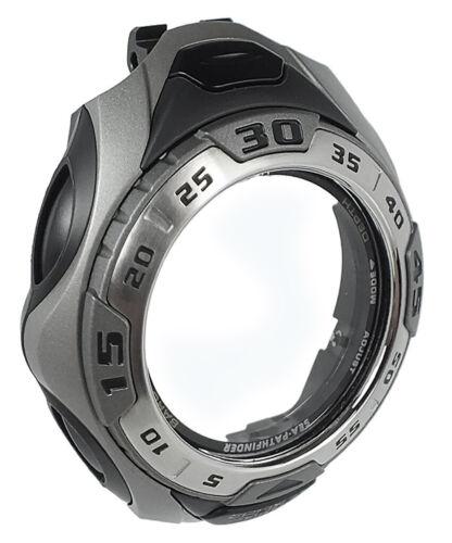 Casio Sea PathfinderGehäuse CASE//CENTER ASSY grau-schwarz SPF-60D