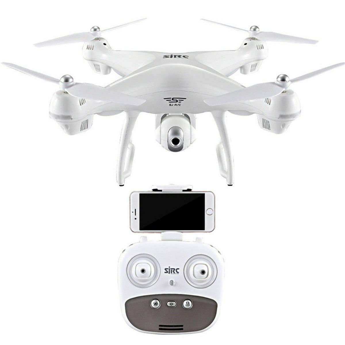 spedizione gratuita S70W GPS LED FPV Drone Quadcopter With With With 1080P HD telecamera Wifi Headless Mode 2.4GHz  supporto al dettaglio all'ingrosso