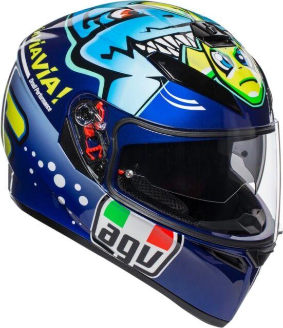 Casco helmet Integrale AGV Full-Face K-3 SV Replica Misano 2015 Taglia MS