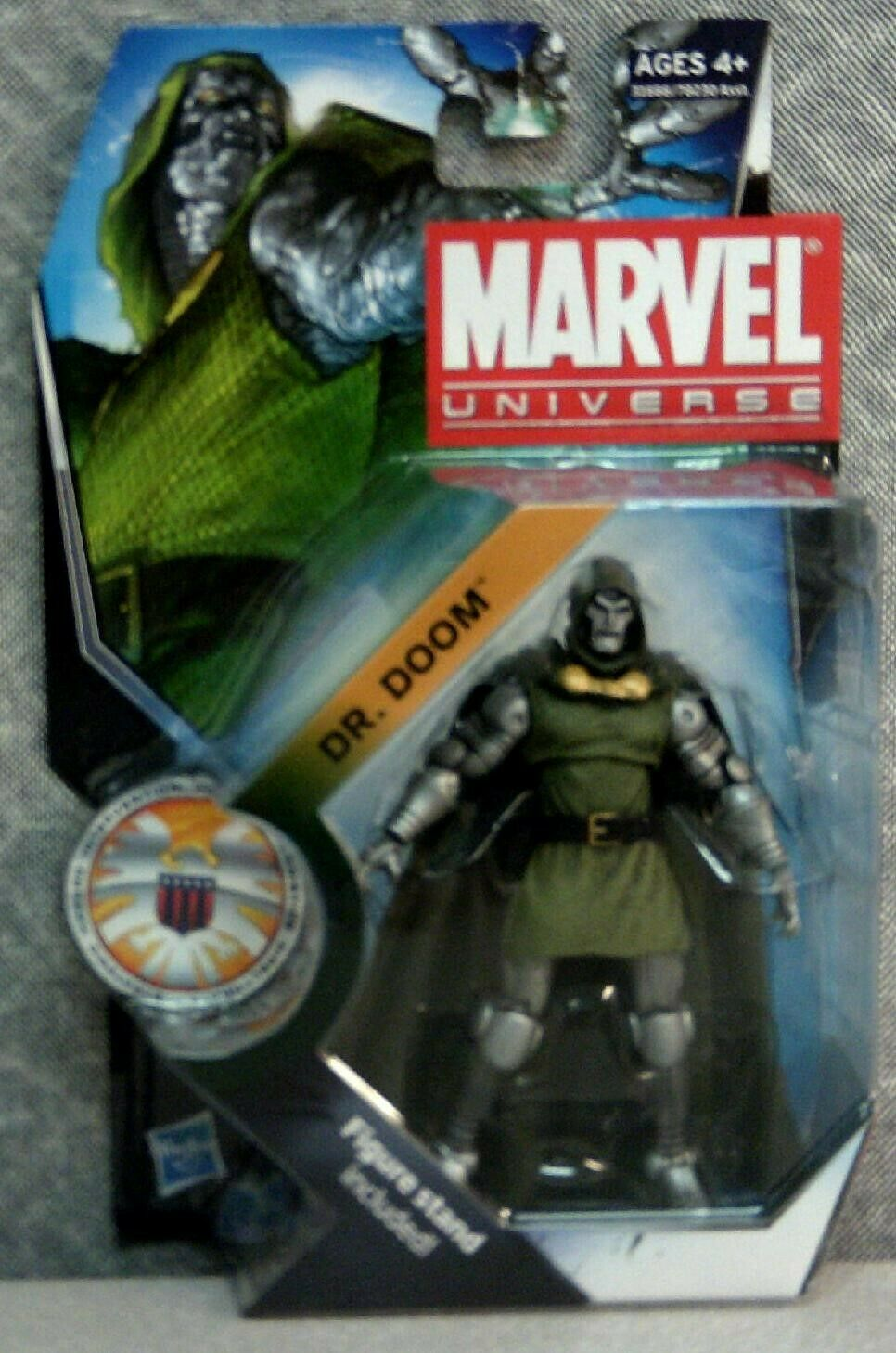 Marvel Universe 3.75 figure #15 Dr Doom complete
