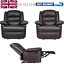 thumbnail 1 - New Recliner Sofa Chair Armchair Luxury Seater PU Leather Cinema Single Sofa UK