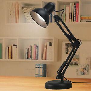 Study-Desk-Table-Reading-Light-Lamp-Swivel-Swing-Arm-Home-Office-Redroom-Bedside