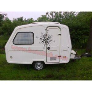 Sticker-de-vinilo-Brujula-Rosa-de-Vientos-coche-mini-caravana-camper
