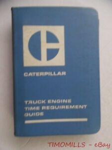 1971 caterpillar truck engine time requirement guide manual 1110 rh ebay ie North American Caterpillar Identification Butterfly Caterpillar Identification