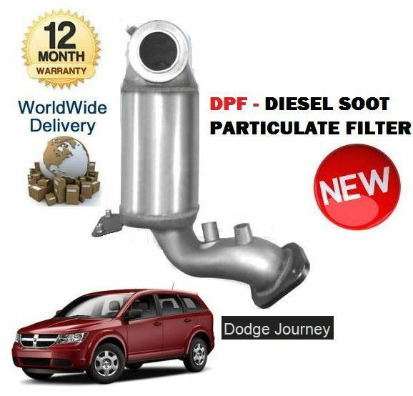 For Dodge Journey 2.0 CRD 2008-4 2011 NEW DPF DIESEL PARTICULATE FILTER