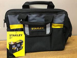 Image is loading STANLEY-TOOL-STORAGE-BAG-SMALL-HAND-TOOL-STORAGE- & STANLEY TOOL STORAGE BAG SMALL HAND TOOL STORAGE ZIPPER MENS ...