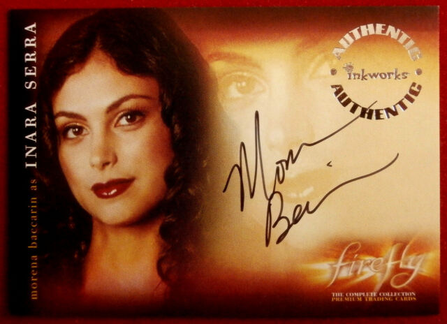 Joss Whedon's FIREFLY - MORENA BACCARIN - Personally Signed AUTOGRAPH Card - A-3