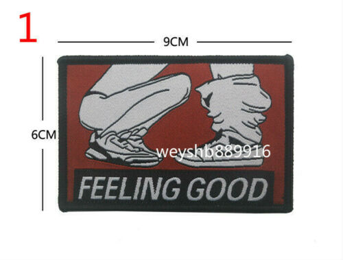 FUNNY NOVELTY BADGE Broderie Crochet Patches Tactical Army Patch moral Armband