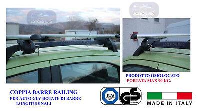 Barre Portatutto Specifiche Fiat Panda 2003>2011