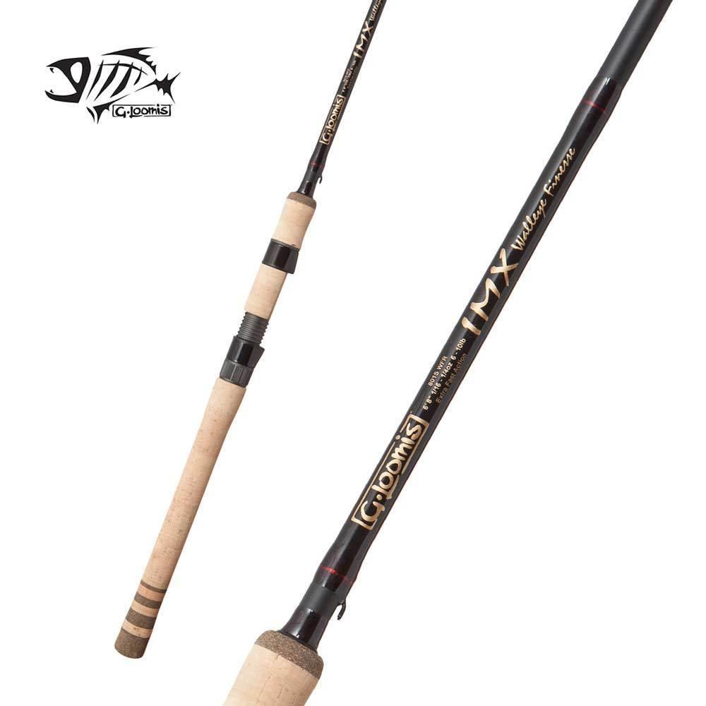 G loomis Imx abadejo de Alaska Finesse Spinning Rod 801S WFR 6' 8  Luz 1pc