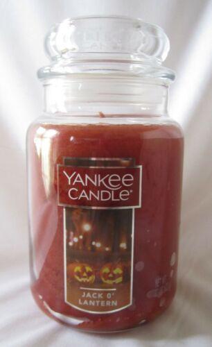 Yankee Candle Yankee Candle Large Jar Candle JACK O/'LANTERN 110-150 Burn time