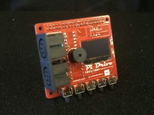 PiDRIVE-RED-EDITION-Raspberry-Pi-HAT-1541-1581-Commodore-64-128-Vic-20-pi1541