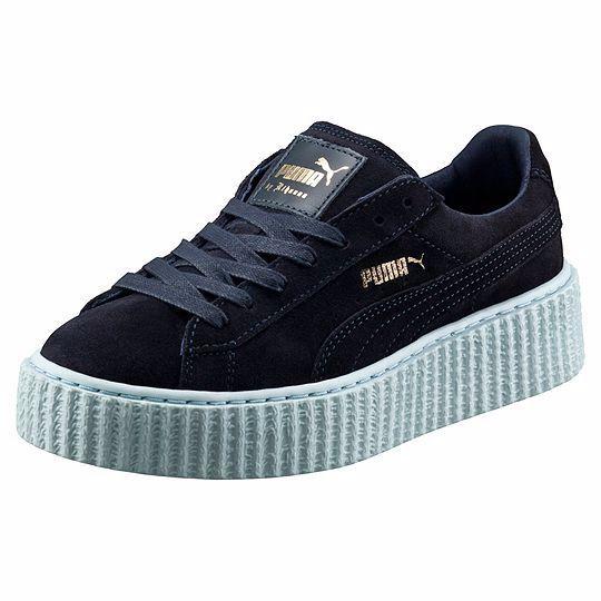 Puma Rihanna Rihanna Rihanna Chaquetón Cool azul Suede Creepers Fenty Todos Tamaños Reino Unido formadores Nuevo  compra en línea hoy
