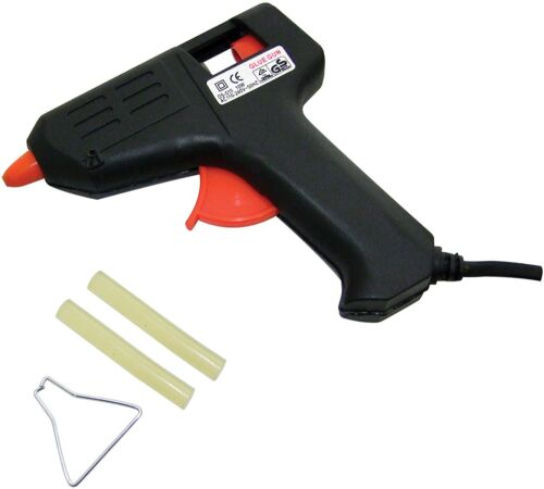 Steel Tip Glue Gun Electric Hot Adhesive Melt Trigger For Hobby Craft Mini DIY