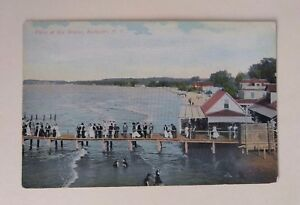 Lot-3-New-York-Rochester-Unposted-Postcards-Streets-Sea-Breeze-Photo