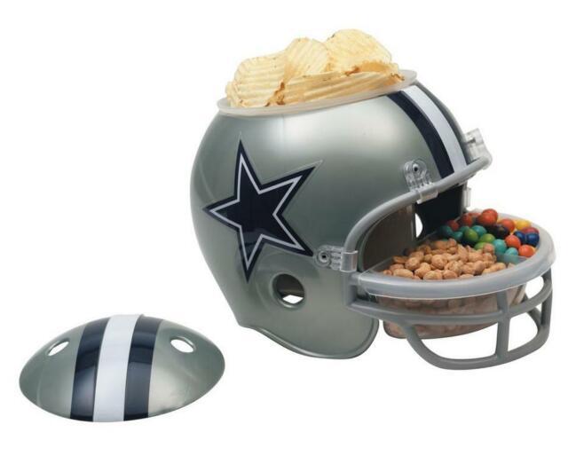 Dallas Cowboys Snack Casque Tête casquée Full Size, NFL Football, pour votre fête!!!