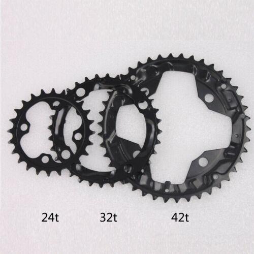 IXF 24//32//42t Triple Speed MTB Bike Chainset 104//64bcd Crank Chainring Sprocket