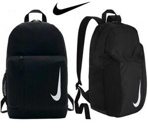 Compatible con Mecánico monitor  Nike Escolar Bolsa Mochila de equipo de la Academia mochilas gimnasio de  Deporte Negro | eBay