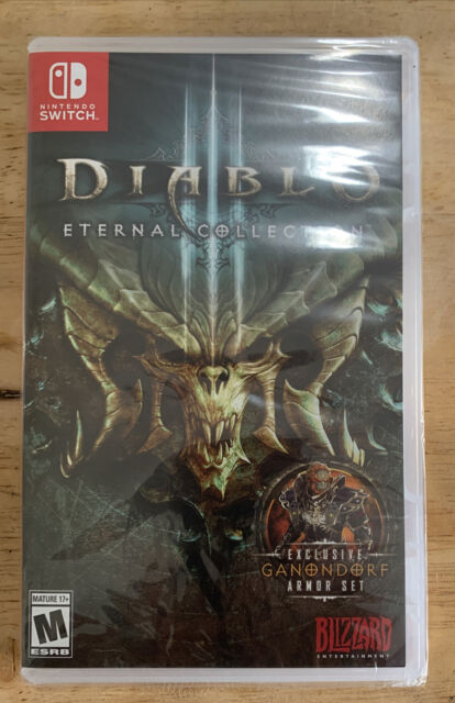 Diablo III Eternal Collection Nintendo Switch New Sealed Video Game Rated M