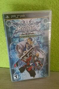 BlazBlue-Portable-Sony-PSP-New-Factory-Sealed-US-Regional-Code-Frei