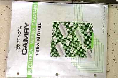 2007 toyota highlander electrical wiring diagram service shop repair manual ewd