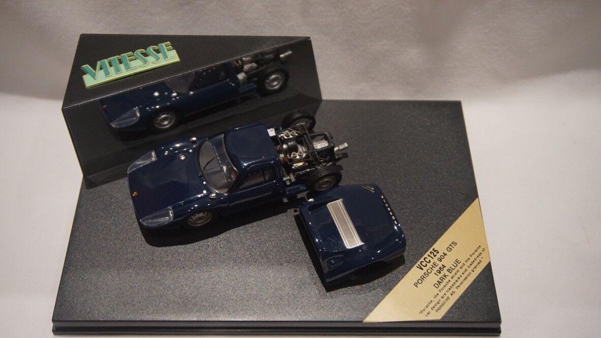 Vitesse VCC125 Porsche 904 GTS 1964 Dark bluee 1 43