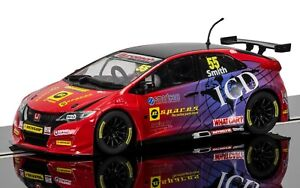 SALE-Scalextric-Slot-Car-BTCC-Honda-Civic-Type-R-Jeff-Smith-C3860