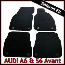 Audi A6 Avant Estate C5 1997-2005 Tailored Fitted Carpet Car Floor Mats BLACK