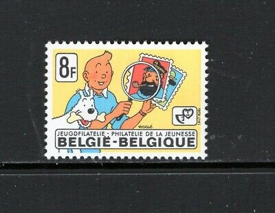 50338 Dem Congo 2001 Tintin Sheet Joint issue with Belgium MNH Rep