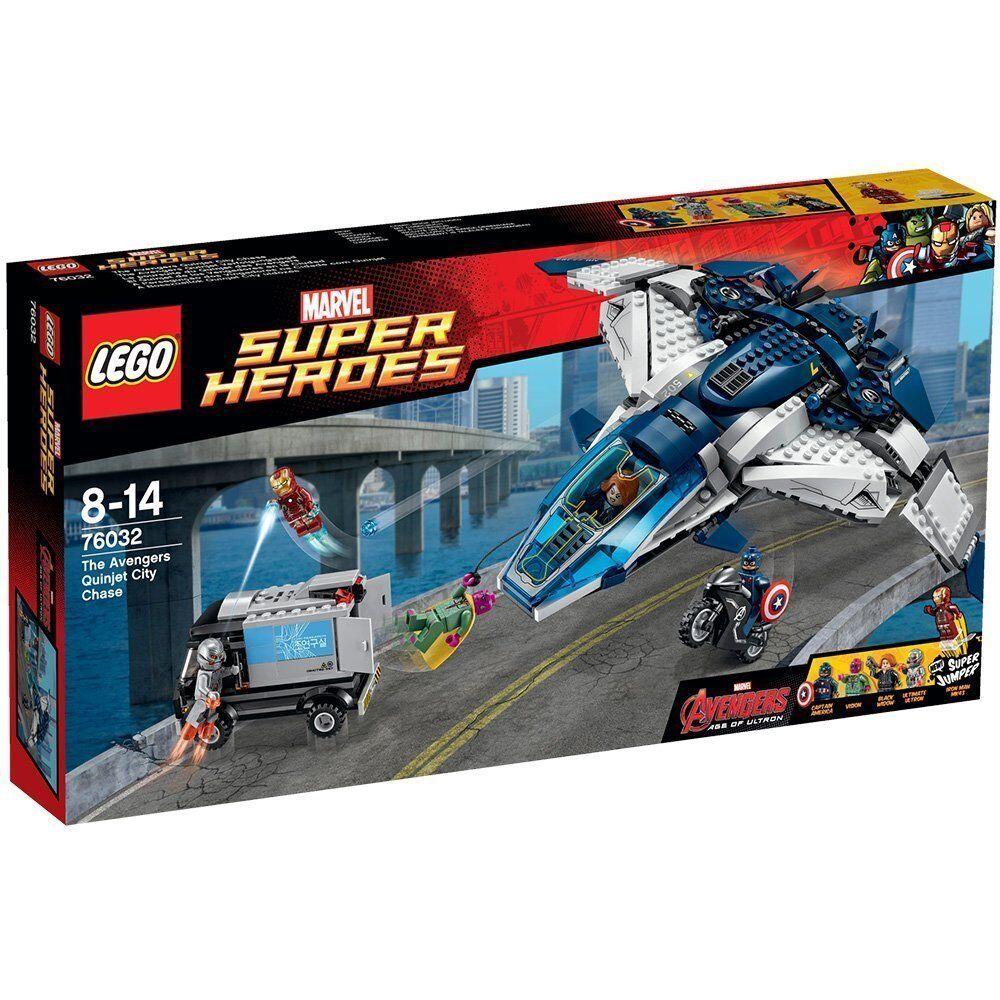 Lego Super Heroes 76032 The Avengers Quinjet Inseguimento