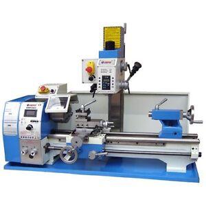 metal lathe milling machine combo