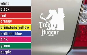 Tree Hugger Bow Hunting Vinyl Sticker Decal CarTruck Laptop - Bow hunting decals for trucks