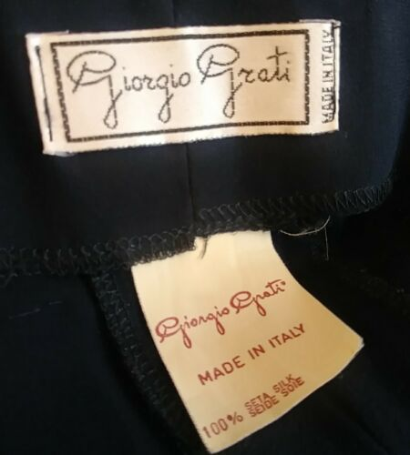 In Made Beaded Pilatzo Medium Giorgio Silke Grati Italy Kvinderbukser ftCnHnwIxq