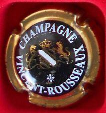 Capsule de champagne Vincent Rousseau N°1 cote 5