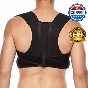 Details About 1 Fajas Ortopedicas Para Hombres Faja Correctora De Postura La Espalda Talla