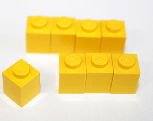 Lego 3005 amarillo base piedra Basic 1x1 piedra angular Brix 8 trozo 49