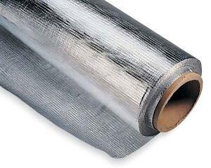 0.9m X 21.3m Solide Radiant Pare-vapeur Solaire Grenier Film Réflecteur 100% D'Origine