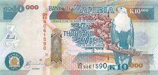 Zambia 10000 Kwacha 2012 Unc Pn 46h