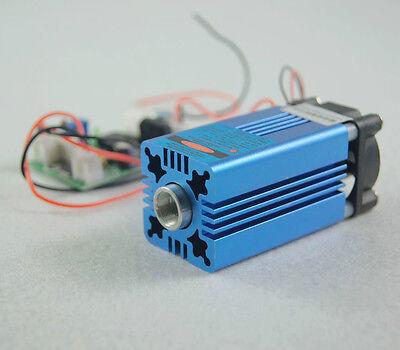 2W 445nm-450nm TTL laser module/ w/h Cooling Fan/2W Blue Laser module