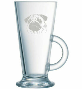 Latte-Coffee-Glass-Pug-Dog-Hand-Etched-Ideal-gift-82