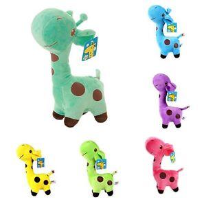 Kinder-Giraffe-Weichen-Stofftiers-SuessEs-Kleines-Baby-Der-Puppe-Zum-Geburtstag