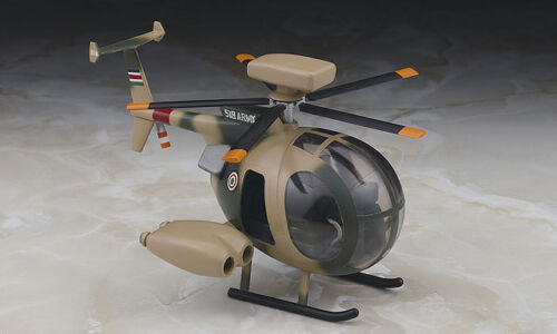 Hasegawa TH23 Egg Plane Series Model Kit Hughes 500 MD Helicopters