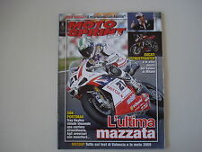 MOTOSPRINT ALLEGATO 45/2008 MAX BIAGGI/SUPERBIKE PORTIMAO/EICMA MILANO