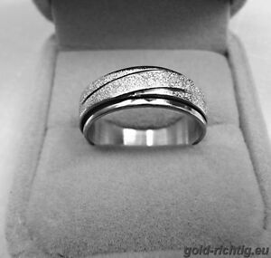 Edelstahl Damen Drehring Damenring Ring Geschenk Geschenkidee Frau Neu + Ovp !!!