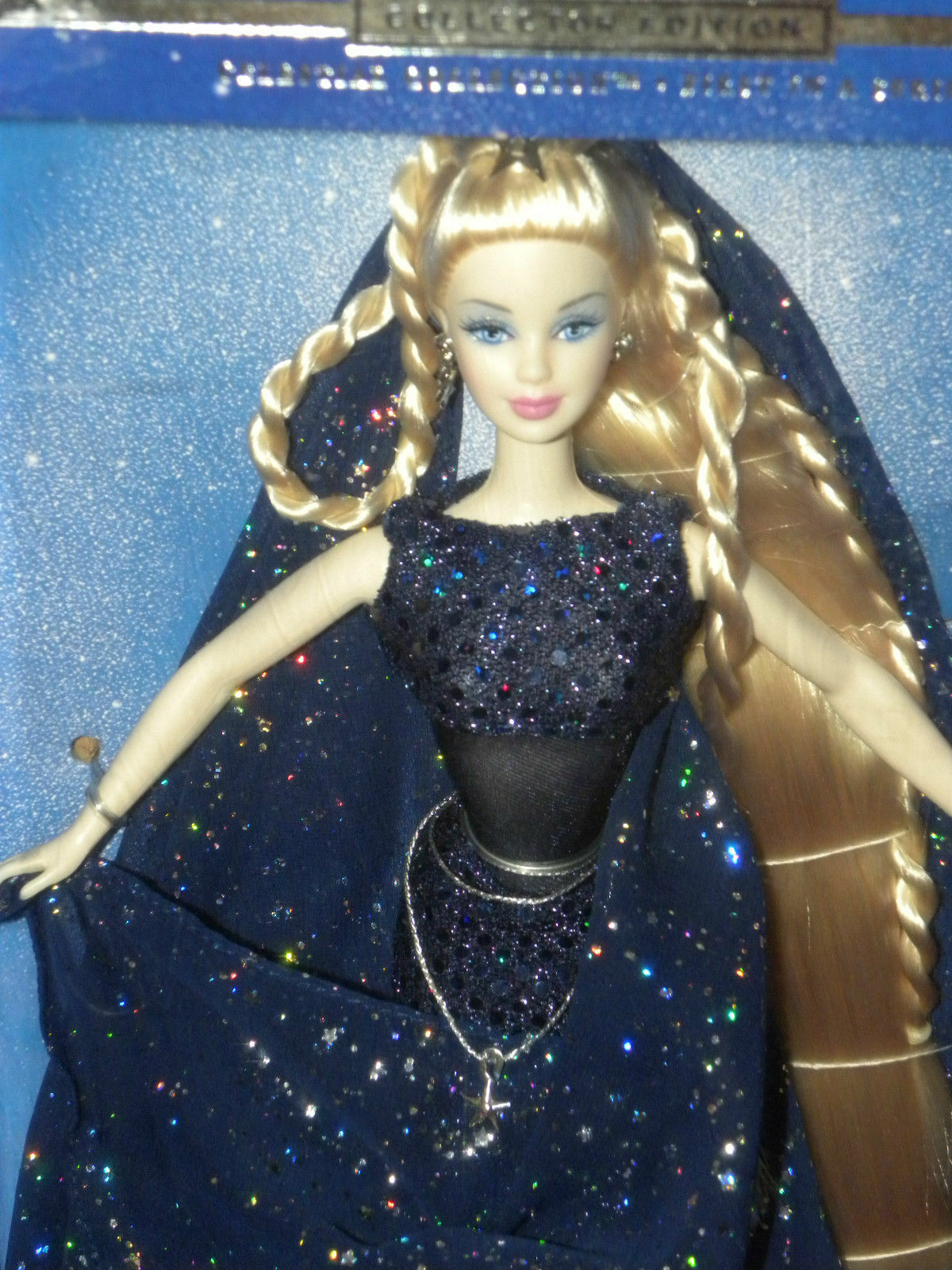 @-BARBIE EVENING STAR RAR/SELTEN CELESTIAL COLLECTORS EDITION/DESIGNE PUPPE NRFB