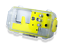 thumbnail 3 - Nautismart Pro iPhone and Android Scuba Diving Phone 60m Underwater Yellow Case
