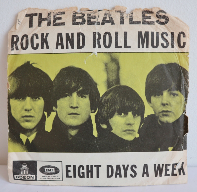 Single, THE BEATLES, ROCK AND ROLL MUSIC - EIGHT DAYS A…