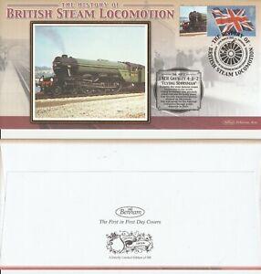 2005-LNER-Flying-Scotsman-Locomotora-Benham-le-carril-cubierta-Shs